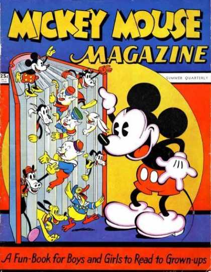 Mickey Mouse Magazine, v1 #1, Summer Quarterly