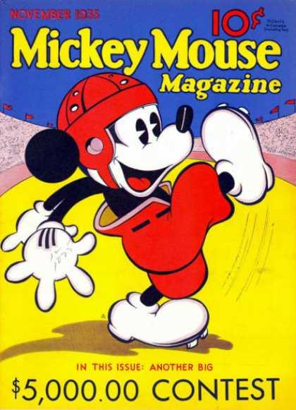 Mickey Mouse Magazine, v1 #3, November 1935