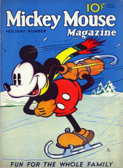 Mickey Mouse Magazine, v1 #4, Holiday Number