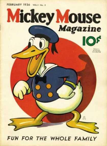 Mickey Mouse Magazine, v1 #5, February 1936