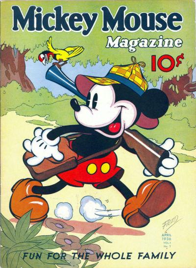 Mickey Mouse Magazine, v1 #7, April 1936