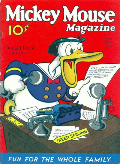 Mickey Mouse Magazine, v1 #8, May 1936