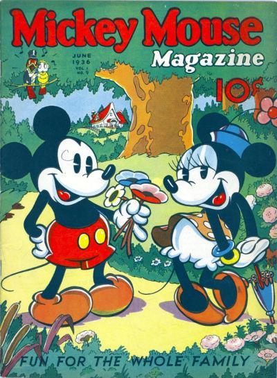 Mickey Mouse Magazine, v1 #9, Jun 1936