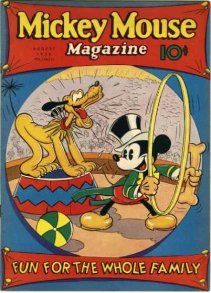 Mickey Mouse Magazine, v1 #11, August 1936